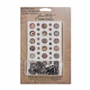 TH93030 Tim Holtz® Idea-ology™ Custom Fasteners DISCONTINUED